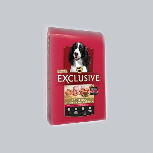 Exclusive Chicken & Rice Adult Dog